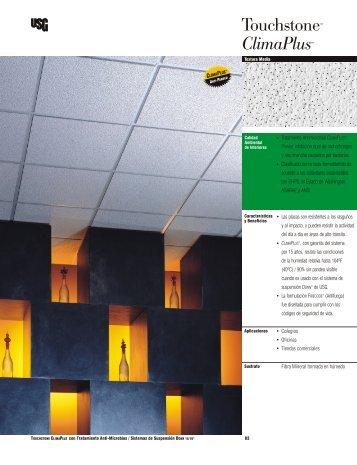 Fibra Mineral formada en húmedo • Colegios • Oficinas ... - Usg