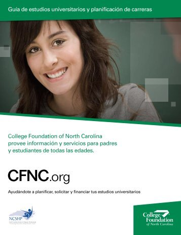 College Foundation of North Carolina provee información y ...