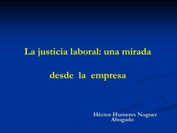 LA NUEVA JUSTICIA LABORAL - Irade