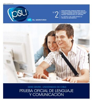 PRUEBA OFICIAL DE LENGUAJE Y COMUNICACIóN - Demre