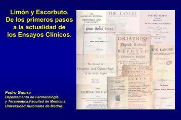 El desarrollo preclínico de fármacos - Universidad Autónoma de ...