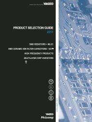 Chip Resistors Selection Charts