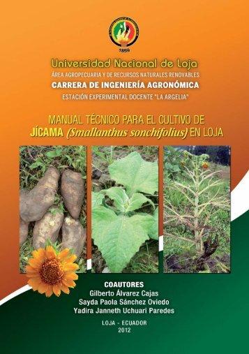 Manual Técnico del cultivo Jícama - Universidad Nacional de Loja