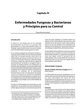 Enfermedades Fungosas y Bacterianas y Principios
