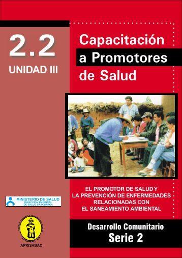 UNIDAD III El promotor de salud y la prevención de enfermedades