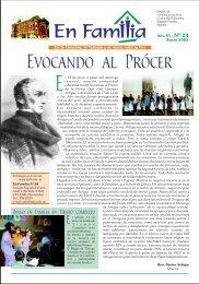 Evocando al Prócer - Colegio y Liceo Sagrada Familia