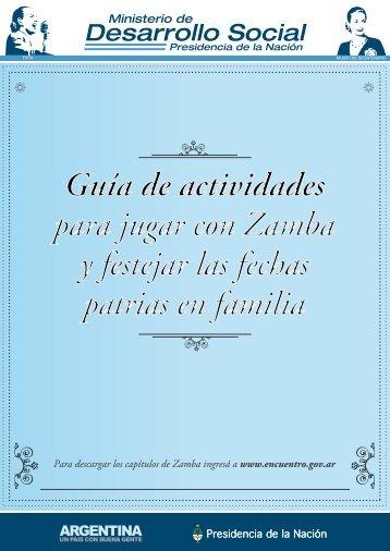 Actividad. - Ministerio de Desarrollo Social