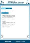 Actividad. - Ministerio de Desarrollo Social - Page 5