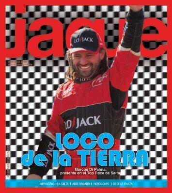 Marcos Di Palma, presente en el Top Race de Salta. - Revista Jaque