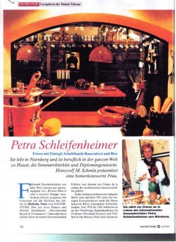 Petra Schleifenheimer - Schleifenheimer, Petra