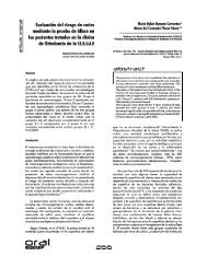 Evaluacion del riesgo de caries mediante la prueba de Alban en los ...