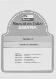 Sistema de Arranque - Ford Sierra Net