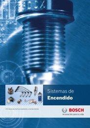 Sistemas de Encendido - Catalogo Bosch