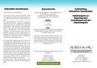 Fachfortbildung Fachfortbildung Heilkundlicher Psychotherapeut ...