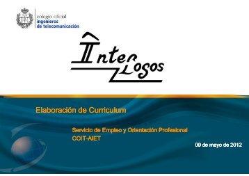 12-05-04.- Elaboración de Curriculum