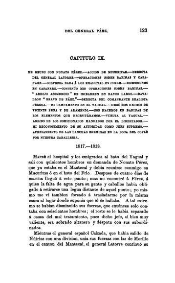 PDF (Tomo 1 , Capítulo IX  1817,1818)