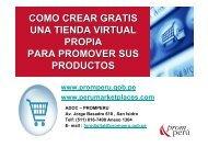 como crear gratis una tienda virtual propia para promover ... - Siicex