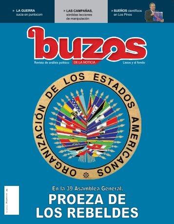 PROEZA DE LOS REBELDES - Buzos