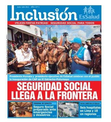 Seis hospitales en Lima y 18 en regiones - EsSalud