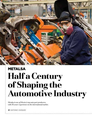 Half a Century of shaping the Automotive industry