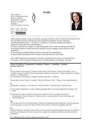 Profile - Karin H. Schleines