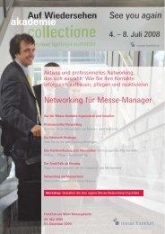 Networking für Messe-Manager - Karin H. Schleines