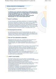 Richtig vorbereitet ins Bankgespräch@www.igelarzt.de - Karin H ...