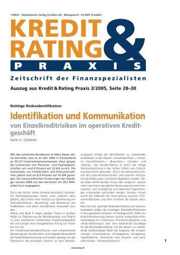 Akademischer Verlag St.Gallen AG - Bankgasse 8 - Karin H. Schleines