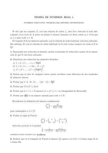 3. La ecuación diofántica ax+by=c. Números primos. Teorema ...