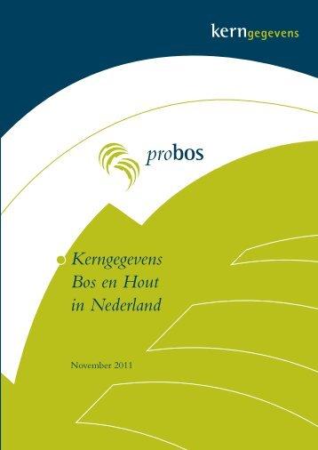 Kerngegevens bos en hout in Nederland - Stichting Probos