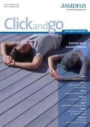 ClickandgoTravel Agent Newsletter - Amadeus