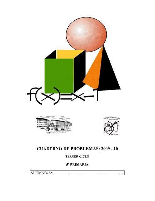 Cuaderno De Problemas 2009 10 Colegio Romareda