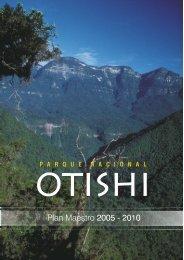 Plan Maestro del Parque Nacional Otishi 2005-2010 - Sernanp