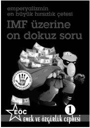 PDF Format İçin... - Sosyalist Barikat