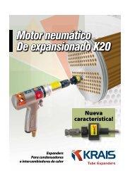 Motor neumático De expansionado K20 - Krais.com