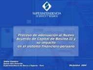 Proceso de adecuación al Nuevo Acuerdo de Capital ... - Sbs.gob.pe