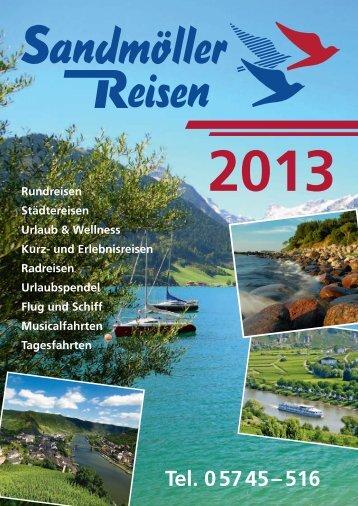 Katalog als PDF - Sandmöller Reisen