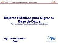 Mejores Prácticas para Migrar su Base de Datos Ing. Carlos ...