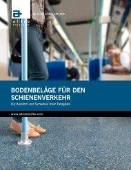 Bodenbeläge für den Schienenverkehr - Altro Gmbh