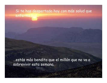 …estás más bendito que el millón que no va a ... - Gabriel Zelaya
