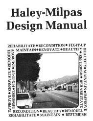 Haley Milpas Design Guidelines, Design Guidelines - City of Santa ...