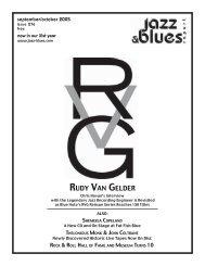 RUDY VAN GELDER - the Jazz & Blues Report