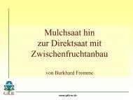 Präsentation zum Vortrag von Burkhard Fromme als PDF - Amazone