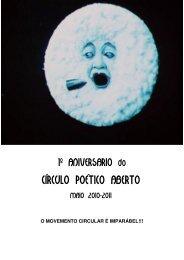 Caderno Círculo Poético
