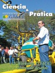 Abril / Maio / Junho / 2008 Revista Ciência & Prática - GTACC