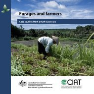 Forages and farmers: case studies from South-East Asia - Australian ...