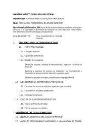 MANTENIMIENTO DE EQUIPO INDUSTRIAL MIENTO DE EQUIPO ...