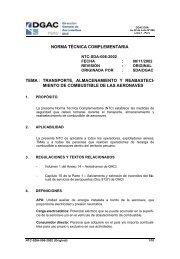NTC-SDA-006-2002 - Ministerio de Transportes y Comunicaciones