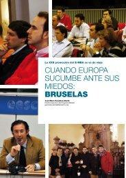 cuando europa sucumbe ante sus miedos: bruselas - Instituto ...
