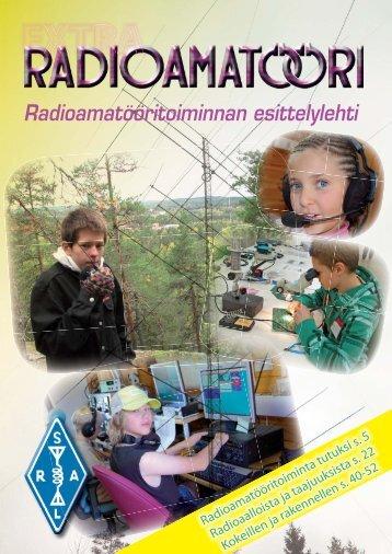 Radioamatööritoiminnan esittelylehti - Sral